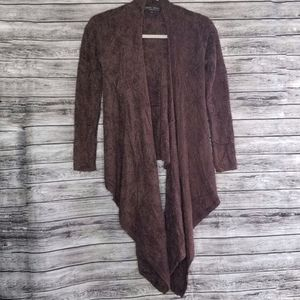 Barefoot Dreams Brown Bamboo Cozy Chic Lite Knit